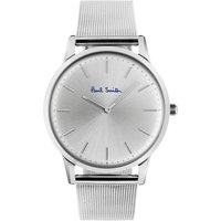 Paul Smith Slim Unisexuhr in Silber PS0100003 von Paul Smith