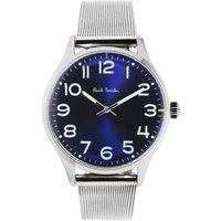 Paul Smith Tempo Mesh Herrenuhr in Silber P10121 von Paul Smith