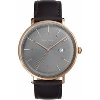 Paul Smith Track Herrenuhr in Braun P10083 von Paul Smith