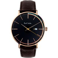 Paul Smith Track Herrenuhr in Schwarz PS0070008 von Paul Smith