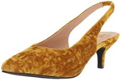 Penny Loves Kenny Damen Dashing, Gold Crushed Velvet, 36 EU von Penny Loves Kenny