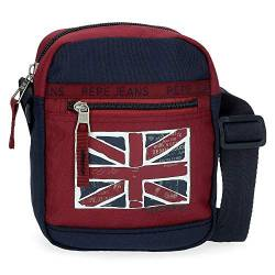 Pepe Jeans Andy Umhängetasche Rot 17x21x7 cms Polyester von Pepe Jeans