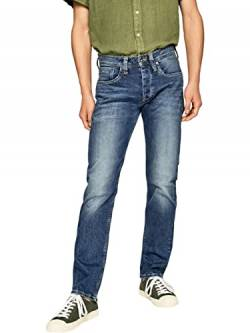 Pepe Jeans Herren Cash Jeans, 11oz Streaky Stretch Med, 31W / 32L von Pepe Jeans