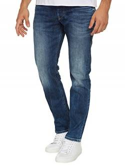 Pepe Jeans Herren Cash Jeans, 11oz Streaky Stretch Med, 33W / 34L von Pepe Jeans