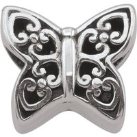 Damen Persona Beautiful Butterfly Bead Charm Sterling-Silber H12174P1 von Persona