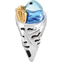 Damen Persona Fish & Chips Bead Charm Sterling-Silber H14891P1 von Persona