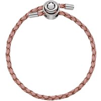 Damen Persona Pink Leather Charm Armband Sterling-Silber H11721B1-01 von Persona