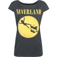 Peter Pan Neverland  T-Shirt  dunkelgrau meliert von Peter Pan