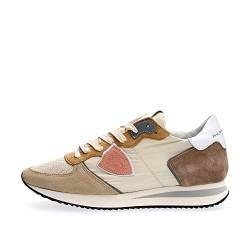 PHILIPPE MODEL PARIS TZLD W061 Tropez X Sneakers Damen Beige 37 von Philippe Model