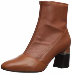 Phillip Lim 3.1 Damen DRUM-70MM Stretch Ankle Boot Stiefelette, Cognac, 37.5/38 EU von Phillip Lim