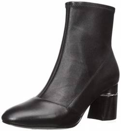 Phillip Lim 3.1 Damen DRUM-70MM Stretch Ankle Boot Stiefelette, schwarzes Leder, 37/37.5 EU von Phillip Lim