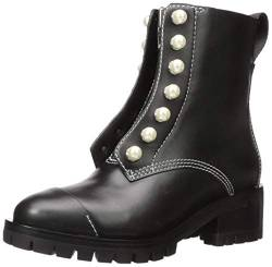Phillip Lim 3.1 Damen HAYETT-Lug Sole Zipper Boot with Pearls Stiefelette, schwarz, 37.5/38 EU von Phillip Lim