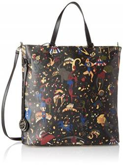 Piero Guidi 212164088, Damen Shopper, Nero (Nero Profondo), 33x32x11 cm (W x H L) von Piero Guidi