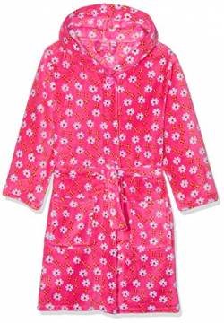 Playshoes M dchen Fleece-bademantel Blumen Bademantel, Rosa (Pink 18), 98-104 EU von Playshoes