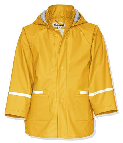 Regenanzug Herstellergr/ö/ße: 74 Gelb 12, Playshoes Baby-Jungen Matschanzug Regen-Set Basic Regenjacke