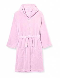 Playshoes Unisex Kinder Fleece-Bademantel, Morgenmantel, Rosa (Rosa 14), 158-164 von Playshoes