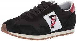 Polo Ralph Lauren Herren Train 90 Turnschuh, schwarz/red, 47 EU von Polo Ralph Lauren