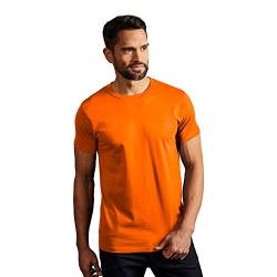 Premium T-Shirt Herren, XL, Orange von Promodoro