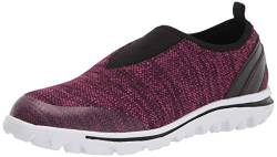 Propét Damen TravelActiv Slip-On Turnschuh, Berry Heather, 37 EU von Propét