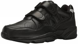 Propet Men's Stability Walker Strap Walking Shoe, Black, 17 M US von Propét