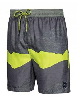 Protest Gilroy Herren Beachshort Lime Up M von Protest