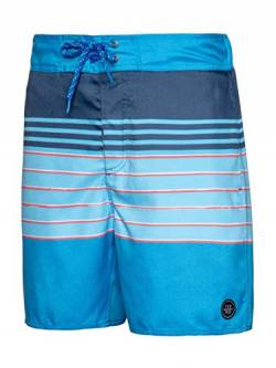 Protest Tano Herren Beachshort Ground Blue M von Protest