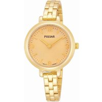 Pulsar Dress Damenuhr in Gold PM2058X1 von Pulsar