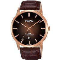 Pulsar Dress Herrenuhr in Braun PS9534X1 von Pulsar