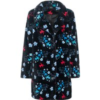 Pussy Deluxe Blossom Coat black allover von Pussy Deluxe