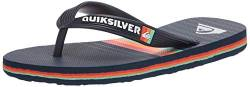 Quiksilver Boy's 3 Point Sandal, Blue/Blue/Blue Molokai More Core Youth, 12 Little Kid von Quiksilver