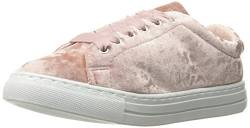 Qupid Women's Reba-161c Fashion Sneaker, pink Crush Velvet, 7 M US von Qupid