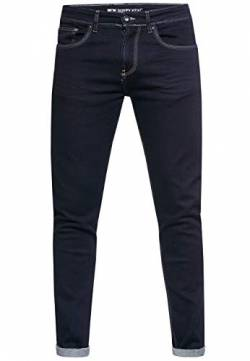 Herren Jeans Rusty Neal Premium Stretch Slim Fit Jeanshose 'Melvin' Streetwear Basics 12224, Hosengröße:33/34, Denim Color:Dark Blue -2 von R-Neal