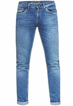 Herren Jeans Rusty Neal Premium Stretch Slim Fit Jeanshose 'Melvin' Streetwear Basics 12224, Hosengröße:38/32, Denim Color:Blue Used -5 von R-Neal