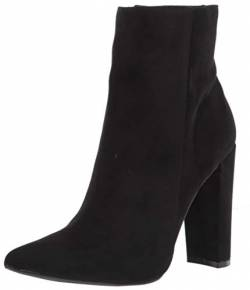 RAMPAGE Women's Fashion Heeled Boot, Black, 10 von RAMPAGE