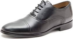REK69|#Red Tape Herren Stowe Oxfords, Schwarz (Black), 41 EU von REK69|#Red Tape