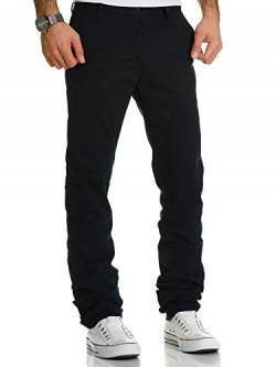 REPUBLIX Herren Regular Slim Stretch Chino Hose Fit R7019 Navyblau W33/L32 von REPUBLIX