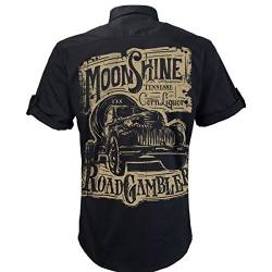 Worker Shirt, Hemd, Rock'n'Roll, Pick Up, Schnaps, Moonshine von ROAD RODEO