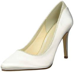 Rainbow Club Brautschuhe Billie Ivory Satin (3.5) von Rainbow Club