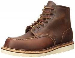 Red Wing Herren Stiefel Moc Toe 01907-1 braun 542550 von Red Wing