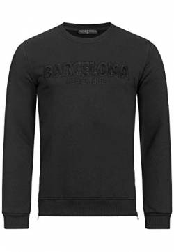 Red Bridge Herren Sweater Pullover Barcelona Schwarz L von Redbridge