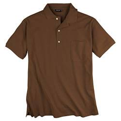 Redfield Poloshirt 6XL Braun von Redfield