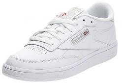 Reebok Damen Club C 85 Turnschuh, Elfenbein (White/light Grey), 38.5 EU von Reebok