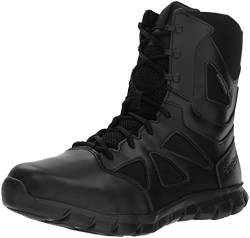 Reebok Men's Sublite Cushion RB8806 Military and Tactical Boot, Black, 9.5 M US von Reebok