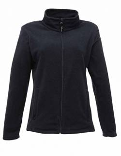RG565 Women´s Micro Full Zip Fleece Damen Fleecejacke, Farbe:Dark Navy;Größen:46 (20) von Regatta