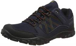 Regatta Herren edgepoint Iii' Waterproof Walking Shoes Trekking-& Wanderhalbschuhe, Blau (Navy/Burnt Umbre Qfd), 43 EU von Regatta