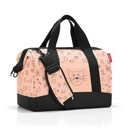 reisenthel allrounder M kids Tasche 40 x 33,5 x 24 cm/18 l / cats and dogs rose von Reisenthel
