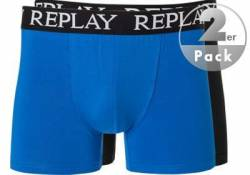 Replay Cotton Stretch Trunk 2er Pack I101005/N090 von Replay