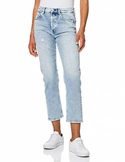 Replay Damen LEONY Jeans, 010 Light Blue, 29 von Replay