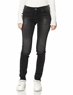 Replay Damen New Luz Jeans, Grau (Dark Grey 097), W25 / L30 von Replay