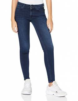 Replay Damen New Luz Jeans, Blau (Dark Blue 007), W25 / L28 von Replay